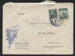 MARCOPHILIE - STRBSKE PLESO - VYSOKE TATRY - CESKOSLOVENSKO - Marcophilie (Lettres)