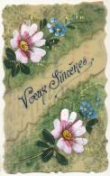 Carte Celuloid Peinte Main - Postcards