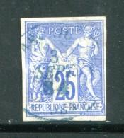 COLONIE GENERALE- Y&T N°36- Oblitéré (cachet à Date Bleu) - Sage