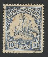 German Ostafrika, 10 P. 1900, Sc # 14, Mi # 14, Used - Colony: German East Africa