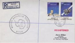 British Antarctic Territory Signy 1987 Registred Cover To Germany Ca Signy 20 Ja 87 (30606) - Brits Antarctisch Territorium  (BAT)