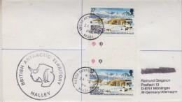 British Antarctic Territory 1986 Halley Cover Ca Haley 24 De 86 (30607) - Brits Antarctisch Territorium  (BAT)