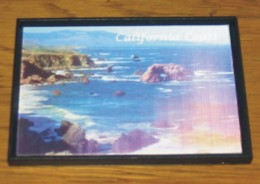 Pub Magnet California Coast Image Qui Bouge - Magnetos