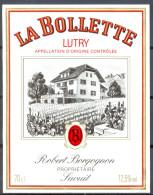 189 - Lutry - La Bollette - Robert Borgognon Propriétaire à Savuit - Labels