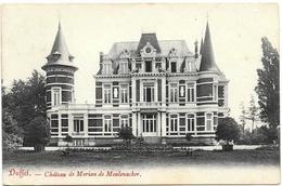 Duffel NA13: Château De Morian De Meulenacker 1907 - Duffel