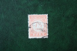 Port Postage Due 7 1/2 Ct NVPH P27 1913-1940 Gestempeld / Used NEDERLAND INDIE / DUTCH INDIES - India Holandeses