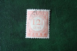 Port Postage Due 12 1/2 Ct NVPH P29 1913-1940 Gestempeld / Used NEDERLAND INDIE / DUTCH INDIES - India Holandeses