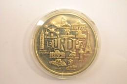 Medaille Commemorative EUROPA 2000 (monuments) - Euro Delle Città