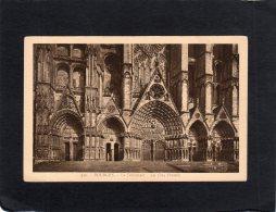 62286    Francia,   Bourges,  La  Cathedrale,  Les  Cinq  Portails,  NV - Bourges