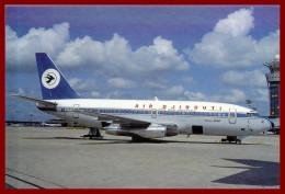 Théme Avion  (scan Recto Et Verso ) Air Djibouti B.737.229 Advanced - Autres