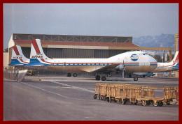 Théme Avion  (scan Recto Et Verso ) Sfair Alt98 Carvair à Nice - Flugzeuge