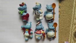 Figurine Publicité Ferrero Hippopotame 1992 Lot - Monoblocs