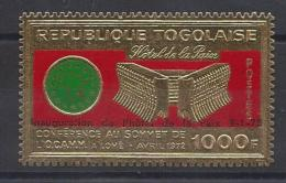 Togo, Timbre En Or - Togo (1960-...)