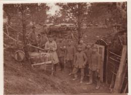Photo 14-18 SOMME-PY (Sommepy-Tahure) - Position Allemande En Forêt, Abri, IR 68 Komp 2 (A149, Ww1, Wk 1) - Non Classés