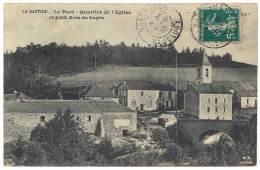 La Bastide ( Lozère ) - Le Pont - Quartier De L'église Et Petit Bois De Sapin - France