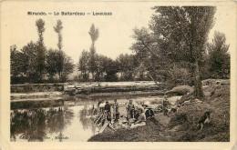 32 - GERS - Mirande - Le Battardeau - Laveuses - Mirande