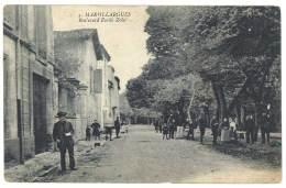 Cpa Marsillargues - Boulevard Emile Zola - France