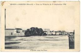 Cpa Marsillargues - Crue Du Vidourle Du 21 Septembre 1932 - France