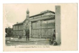 11984 Cpa   COULONGES Sur L´ AUTIZE :  Les Halles   !1919   ACHAT DIRECT !! - Coulonges-sur-l'Autize