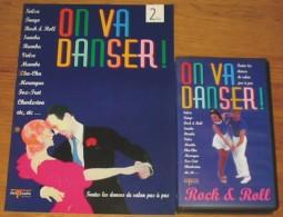 Cassette Vidéo On Va Danser Rock And Roll + Livret - Video Tapes (VHS)