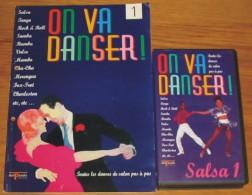 Cassette Vidéo Salsa 1 + Livret - Videocesettes VHS