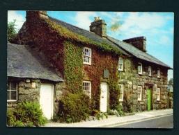 WALES  -  Llanystumdwy  Lloyd George's Boyhood Home  Used Postcard - Caernarvonshire
