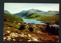 WALES  -  Snowdon Massif From Fachwen  Used Postcard - Caernarvonshire