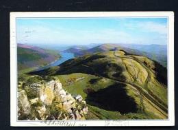 WALES  -  Talybont Reservoir  Used Postcard - Breconshire