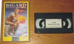 Cassette Vidéo Bigard Nouveau Spectacle - Comedy