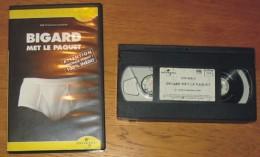 Cassette Vidéo Bigard Met Le Paquet - Comedy