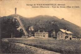Barrage De Walk- Robertville   Centrale D'electricity  Tour De Niveau D'eau Et Chute  Bevercé Malmedy      A 1794 - Malmedy