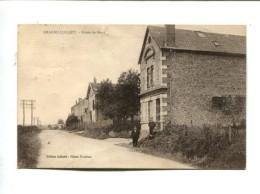 CP - AMAGNE LUCQUY (08) ROUTE DE NOVY - France