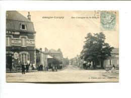 CP - AMAGNE LUCQUY (08) RUE D AMAGNE - France