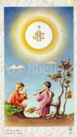 Communieprentje / Communie / Communion / Vormsel / Confirmation / Godelieve Hollanders / Tongeren / 1957 - Communion