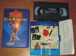 Cassette Vidéo Elie Kakou Cirque D'hiver Bouglione - Comedy