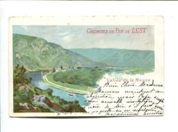 CP - CHEMIN DE FER DE L EST (08) Vallee De La Meuse - Other Municipalities