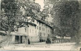 CPA 04 DIGNE L ETABLISSEMENT THERMAL 1919 - Digne