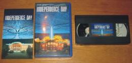 Cassette Vidéo Independence Day + 1 Image Qui Bouge - Sci-Fi, Fantasy