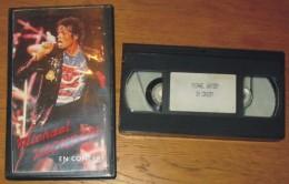 Cassette Vidéo Mickaël Jackson En Concert - Concert Et Musique