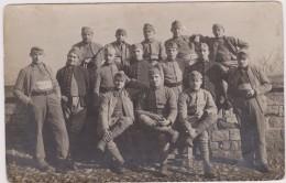 CARTE PHOTO,88,VOSGES,POUXEUX,EN 1915,99 REGIMENT INFANTERIE,SOLDAT,MILITAIRE,LORRAINE - Pouxeux Eloyes