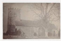 The Church, Soberton, Hampshire Real Photo Postcard, B081 - England