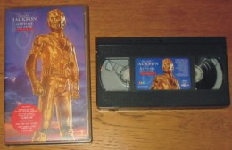 Cassette Vidéo Mickaël Jackson Histoty On Film Volume 2 - Concert & Music