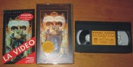 Cassette Vidéo Mickaël Jackson Dangerous + 1 Livret - Concert Et Musique