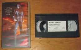 Cassette Vidéo Mickaël Jackson Vidéo Greatest Hits - Concert & Music