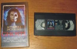 Cassette Vidéo Mickaël Jackson Ghosts - Concert & Music