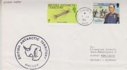 British Antarctic Territory 1989 Halley Cover Ca 1 Ja 89 Halley (30609) - Brits Antarctisch Territorium  (BAT)