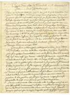 SIEGE DE BERGEN-OP-ZOOM 1747 – GUERRE DE LA SUCCESSION D'AUTRICHE – C. De LOEWENDAL Au Marechal De SAX - Historical Documents