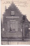 CPA BELGIQUE @ STAVELE - ALVERINGEM Flandre Occidentale La Maison Communale - Editeur Alexis De Carne - Alveringem