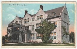 Read Hall, Columbia, Mo. - 1922 - Columbia