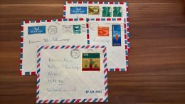 Lot Lettres From Israel To Switzerland ~ 1973 - Israel